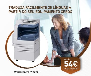 Traduza Facilmente 35 Línguas a partir do seu equipamento Xerox